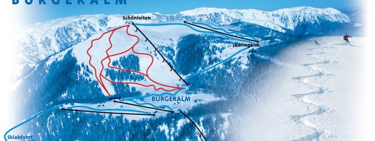 Trail Map Aflenzer Bürgeralm