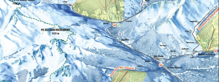 Trail Map Aiguilles