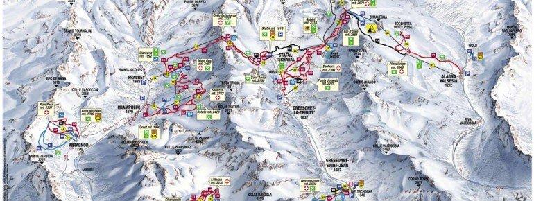 Trail Map Alagna