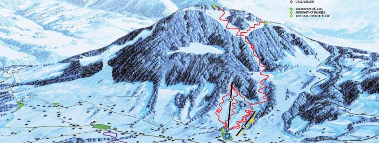 Trail Map Alberschwende