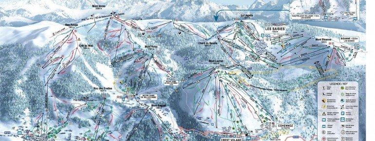Trail Map Albertville
