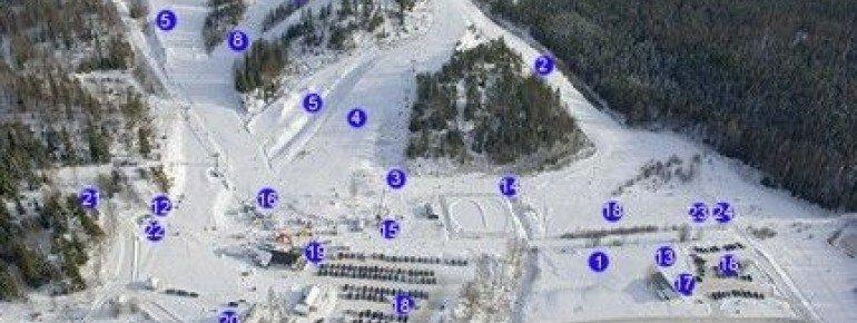 Trail Map Alhovuori