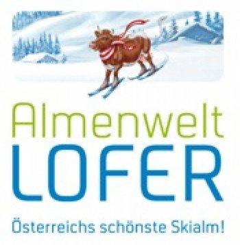 Logo ski resort Almenwelt LOFER