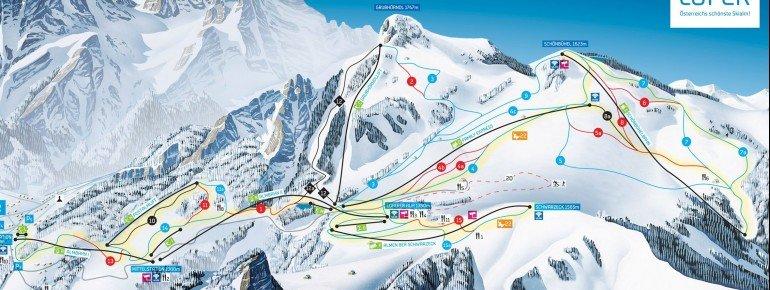 Trail Map Almenwelt Lofer