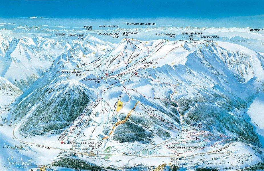 Alpe du grand serre ski holiday reviews skiing - Office du tourisme alpes du grand serre ...