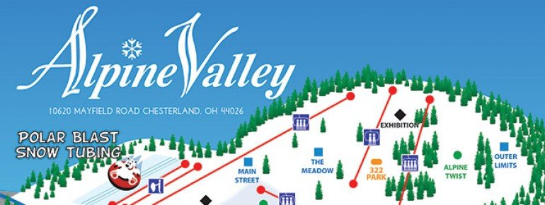 Trail Map Alpine Valley
