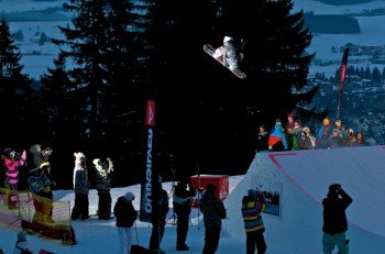 The 5ive Alpspitzpark is a hot spot for freestyle fans.