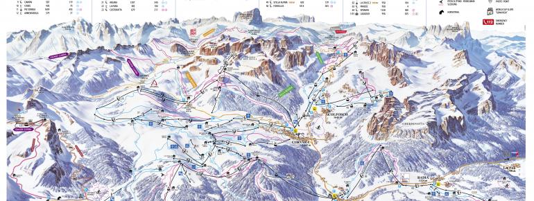 Trail Map Alta Badia