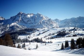 The mountain panorama in South Tyrol is one of a kind in the Alps.