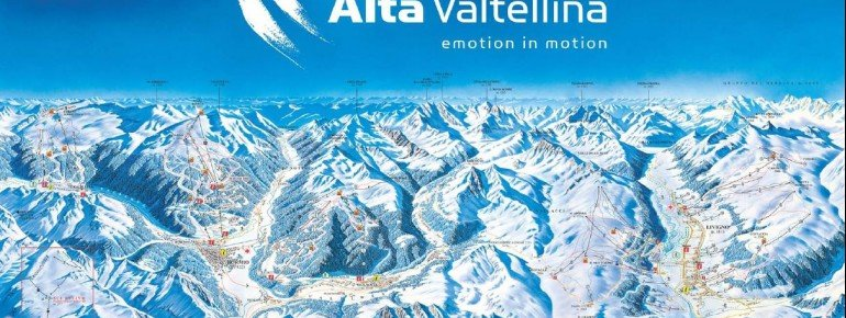 Trail Map Alta Valtellina