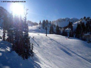 In Alta an abundace of intermediate terrain can be found