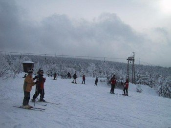 The skiing area Altenau is ideal for beginners