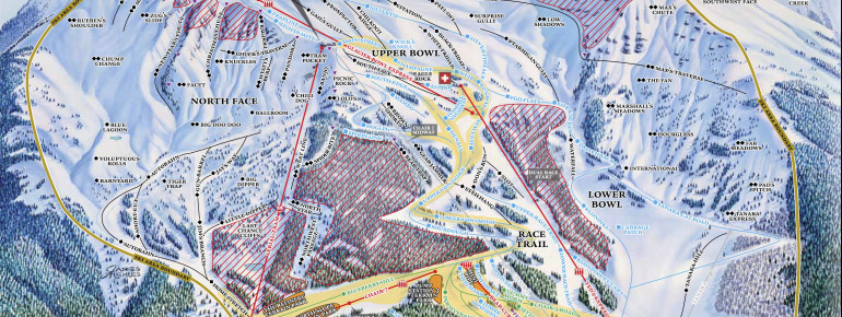 Trail Map Alyeska Resort