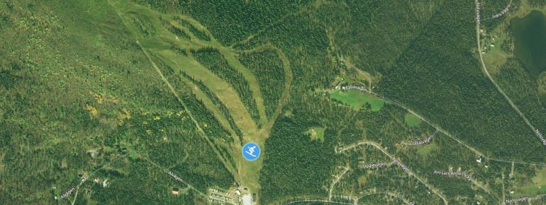 Trail Map Ammarnäsfjäll