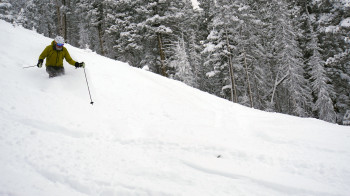 Powder Day at angel Fire Resort in 2020