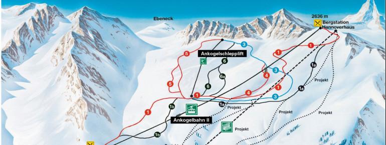 Trail Map Ankogel Mallnitz