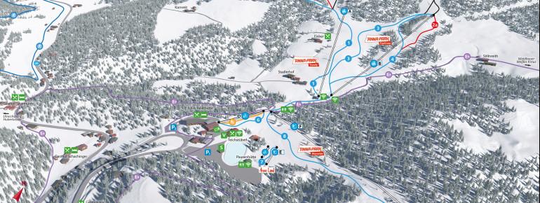 Trail Map Annaberg