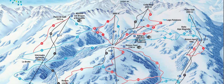 Trail Map Aprica