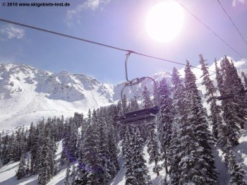 A-Basin has relatively modern lift facilities.