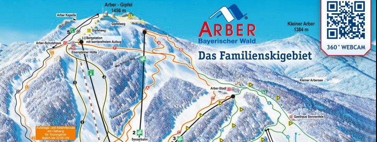 Trail Map Arber