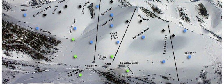 Trail Map Arctic Valley Ski Area