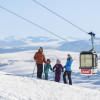 Åre is a great holiday spot for families.
