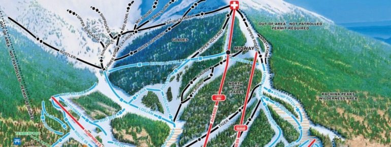 Trail Map Arizona Snowbowl