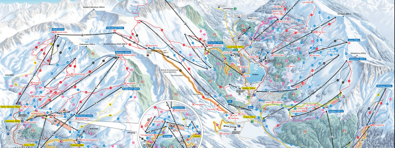 Trail Map Arosa Lenzerheide
