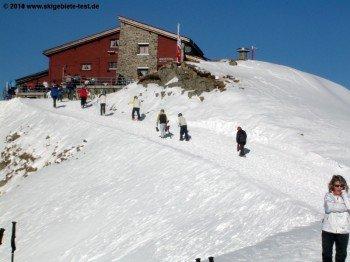 Mountain hut Hörnli