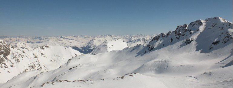 View from the summit Rothorn