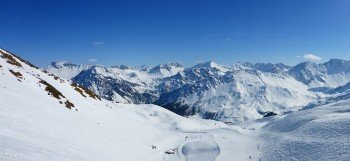 Fantastic panoramic views in Arosa
