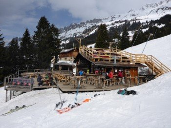 The Wanner mountain hut in Lenzerheide