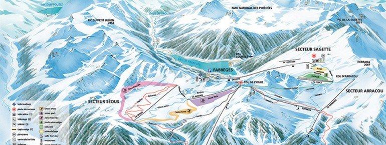 Trail Map Artouste
