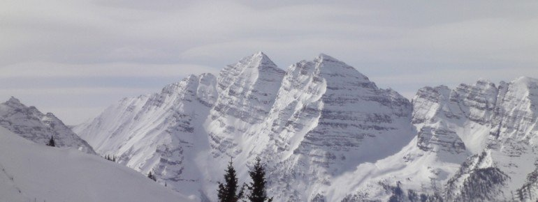 The most photographed peaks in North America - the Maroon Bells