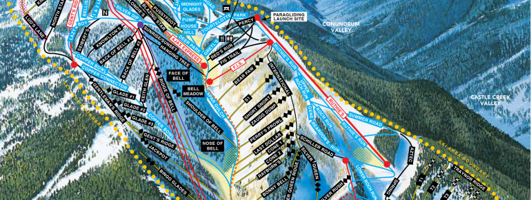 Trail Map Aspen Mountain