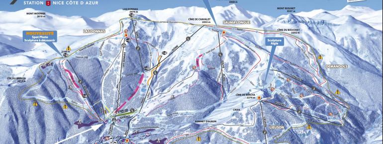 Trail Map Auron