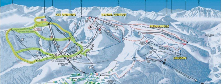Trail Map Auron