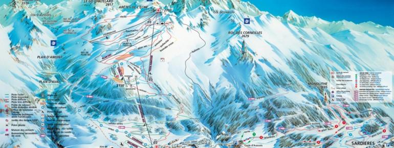 Trail Map Aussois