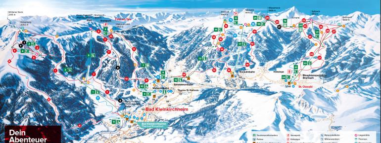 Trail Map Bad Kleinkirchheim