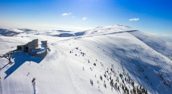 The ski resort Bad Kleinkirchheim is located in the Carinthian Nockberge mountains