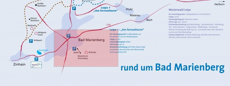 Trail Map Bad Marienberg Schorrberg
