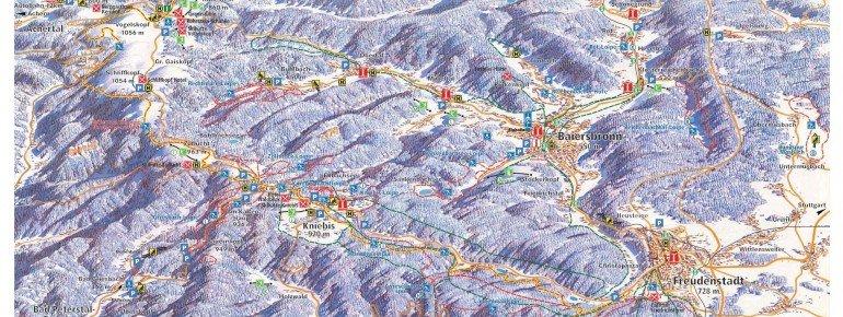 Trail Map Baiersbronn