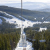 The Eagle Chair takes you to the highest point of the ski area at 2,123 meters.