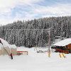 Baldy Lodge is located in the center of the ski area.