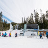 The Sugarlump Chair is one of two chairlifts at the ski area.