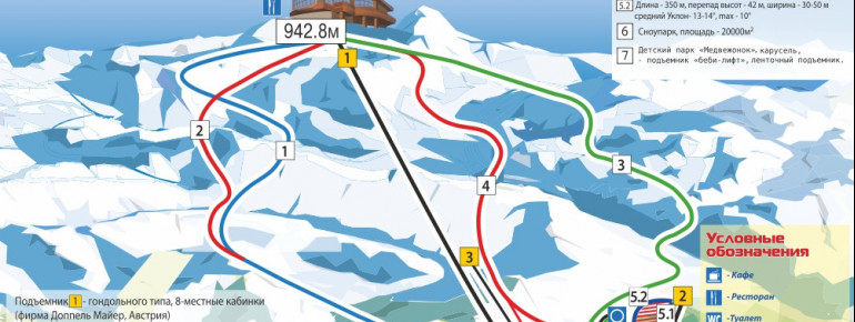 Trail Map Bannoye