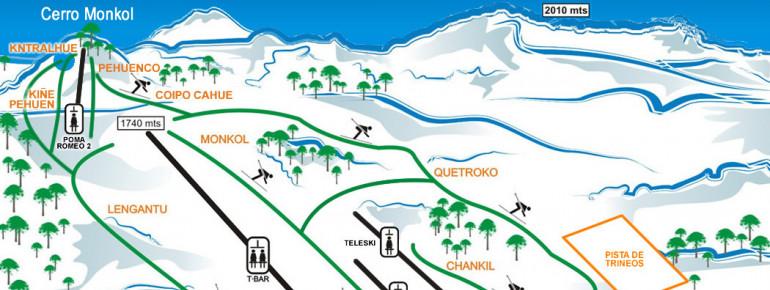 Trail Map Batea Mahuida