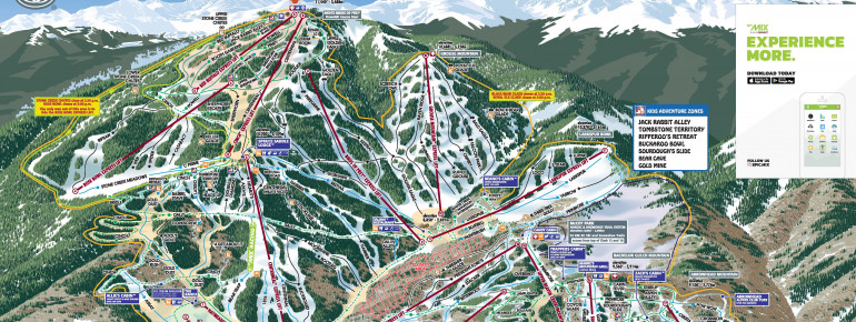 Trail Map Beaver Creek