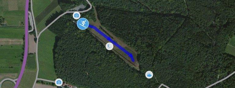 Trail Map Beerfelden