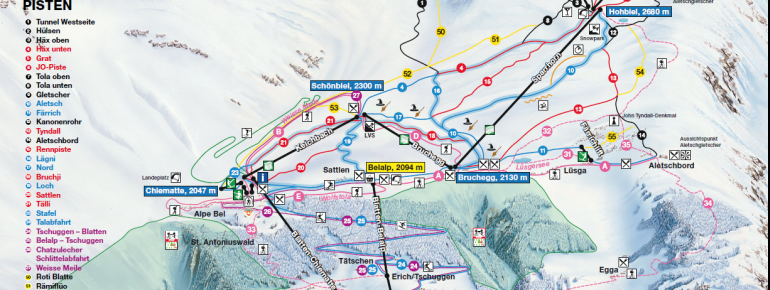 Trail Map Belalp